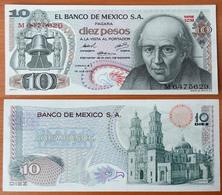 Mexico 10 Pesos 1974 AUNC/UNC - Mexique