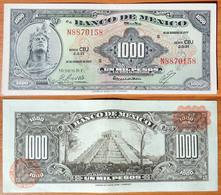 Mexico 1000 Pesos 1977 Brown Seals - Mexico