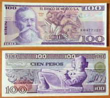 Mexico 100 Peso 1979 UNC Serie LD - Messico