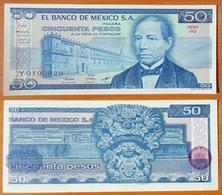 Mexico 50 Peso 1981 UNC (Sign.1) - Mexique