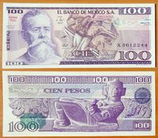 Mexico 100 Peso 1981 UNC P-74a - México