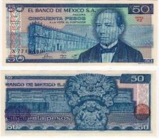 Mexico 50 Peso 1981 UNC (Sign.2) - Mexique