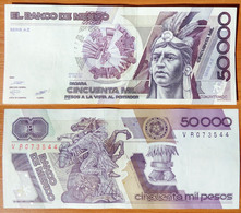 Mexico 50000 Pesos 1987 XF Serie AZ - Mexique