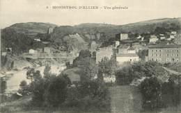 """/ CPA FRANCE 43 """"Monistrol D'Allier, Vue Générale"""" - Andere Gemeenten"""