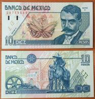 Mexico 10 Pesos 1994 AUNC/UNC P-105a - Mexique