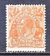 Australia 120  (o)  Wmk 228   1931-36  ISSUE - 1913-36 George V: Heads