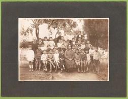 Portugal - REAL PHOTO - Alunos Da Escola Primária Com Professores - School - École - Schools