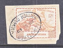 BRITISH  GUIANA  248   (o)   U.P.U.  On  Piece - British Guiana (...-1966)