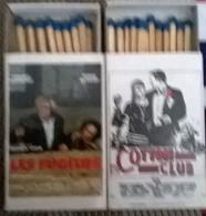 2 Affiches De Films: Les Fugitifs Et Cotton Club - Boites D'allumettes
