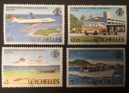 SEYCHELLES - MH* - 1980 - # 456/459 - Seychelles (1976-...)