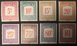 SEYCHELLES - MH* - 1980 - # D11/18 - Seychelles (1976-...)