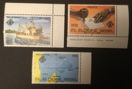 SEYCHELLES ZIL SESEL - MNH** - 1980 - # 17/19 - Seychelles (1976-...)