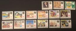 SEYCHELLES - MNH** - 1969 - # 257/271 15 VALUES - Seychelles (...-1976)