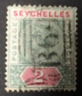 SEYCHELLES - (O) - 1890-1900 - # - Seychellen (...-1976)
