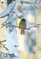 Postal Stationery - Bird - Oiseau - Vogel - Uccello - WWF Panda Logo - Siberian Jay - Suomi Finland - Postage Paid - Finlande
