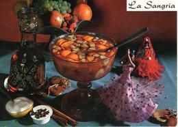 Recette De Cuisine La Sangria    CPM Ou CPSM - Recipes (cooking)