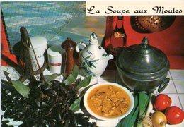 Recette De Cuisine La Soupe Aux Moules CPM Ou CPSM - Recettes (cuisine)