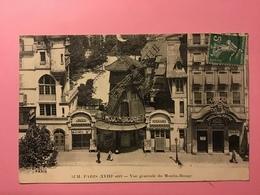 PARIS. — Vue Générale Du Moulin-Rouge ( XVIII Arrt ) - Cafés, Hôtels, Restaurants