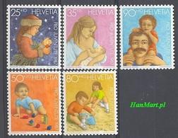Switzerland 1987 Mi 1359-1363 MNH ( ZE1 SWT1359-1363 ) - Autres