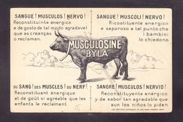 TRE-19 MUSCULOSINE BYLA - Publicidad