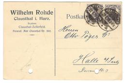 12722 - Carte Commerciale - Germany
