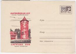 Latvia USSR 1967 Sigulda, Turaidas Pils Castle - Lettonie