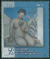 MEXICO 2004 HEALTH SECRETARIAT ANNIVERSARY, NUDE PAINTING** (MNH) - Mexique