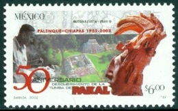 MEXICO 2002 TOMB OF PAKAL DISCOVERY ANNIVERSARY** (MNH) - Mexique