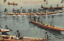 Afrique Occidentale - Dakar (Sénégal) - Piroguiers - Collection Fortier A.O.F. - Carte Colorisée N° 59 Non Circulée - Senegal