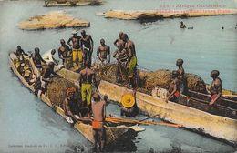 Dakar (Sénégal) Pêcheurs Rentrant Leurs Filets, Pirogues - Collection Fortier A.O.F. Carte Colorisée N° 322 Non Circulée - Senegal