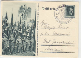 P 264 / 02 Aus NÜRNBERG 11.9.37 Nach Bad Gandersheim - Briefe U. Dokumente