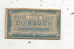 Lame De Rasoir DU BARRY , Fabrication Française , Qualité Garantie , Marque Déposée,  2 Scans - Lames De Rasoir