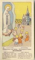 WATERLOO   : St. Francois D'Assise  (  11.5 X 6.5 Cm )  Voir Scan Pour Detail - Religion & Esotérisme
