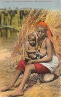 Afrique Occidentale - Femme Malinkée Et Son Enfant - Collection Fortier, Carte Colorisée N° 1088 Non Circulée - Afrique