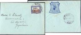 SWA - AIRMAIL - WINDHOEK  HIGH  SCHOOL - 1932 + Memo. Letter - Namibie (1990- ...)