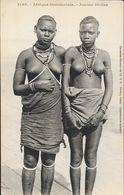 Afrique Occidentale - Jeunes Femmes Diolas - Collection Fortier A.O.F. Carte N° 1195 Non Circulée - Afrique