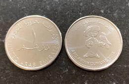 UAE 1 Dirham Coin Commemorative 2019 Asian Football Cup UNC - United Arab Emirates