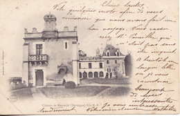 BERG19-  GRAND BRASSAC DORDOGNE  CHATEAU DE MONTARDY  CPA  PRECURSEUR  CIRCULEE - Unclassified