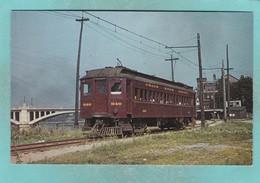 Small Post Card Of Streetcar,Tramcar,Light Rail,Grand River Railway No 848 At Brantford Station,Ontario,Canada.Y74. - Ontario