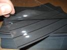 100 Steckkarten C6 158x110 Mm, 4 Einsteckstreifen + Schutzfolie NEU - Ungebraucht