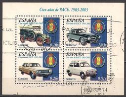 Spanien (2003)  Mi.Nr.  Block 118  Gest. / Used  (6bl-01.6) - 1931-Today: 2nd Rep - ... Juan Carlos I