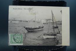 CPA Afrique Erythrée Eritrea Vista Dol Molo Bateaux - Erythrée