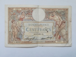 FRANCIA 100 FRANCS 1935 - 1871-1952 Antichi Franchi Circolanti Nel XX Secolo