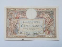 FRANCIA 100 FRANCS 1938 - 1871-1952 Circulated During XXth