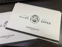 UAE 2019 VIP Folder 100 Years Of Sheikh Zayed Stamps, FDC, Maximum Cards LTD 100 Only - United Arab Emirates