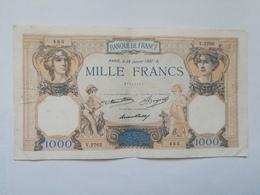 FRANCIA 1000 FRANCS 1937 - 1 000 F 1927-1940 ''Cérès Et Mercure''