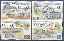 Belize 1993 Mi 1094-1097 MNH ( ZS1 BLZ1094-1097 ) - Belize (1973-...)