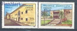 Dominican Republic 1992 Mi 1660-1661 MNH ( ZS2 DOR1660-1661 ) - Dominicaine (République)