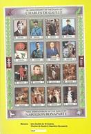 Bloc-feuillet De MANAMA Neuf** Charles De Gaulle & Napoléon Bonaparte - Bahreïn (1965-...)
