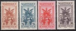 Taxe N° 23 Au N° 26 - X - ( C 1549 ) - Martinique (1886-1947)